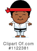 Royalty-Free (RF) Karate Clipart Illustration #1122381