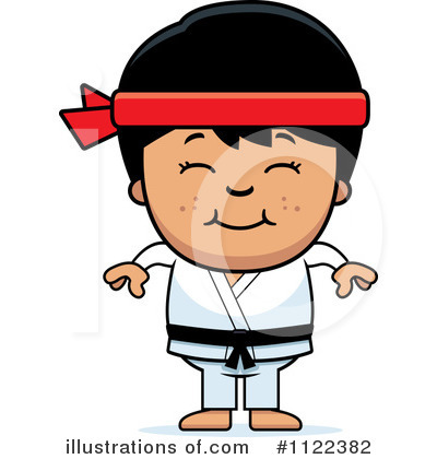Karate Clipart #1122382 by Cory Thoman