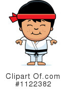 Royalty-Free (RF) Karate Clipart Illustration #1122382