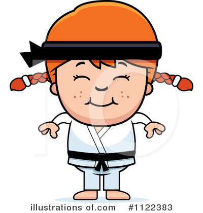Karate Clipart #1122383 by Cory Thoman