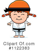 Royalty-Free (RF) Karate Clipart Illustration #1122383