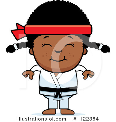 Karate Clipart #1122384 by Cory Thoman