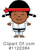 Royalty-Free (RF) Karate Clipart Illustration #1122384