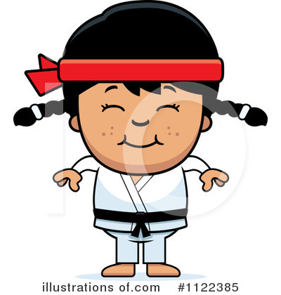 Karate Clipart #1122385 by Cory Thoman