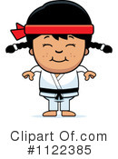 Royalty-Free (RF) Karate Clipart Illustration #1122385