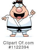 Royalty-Free (RF) Karate Clipart Illustration #1122394