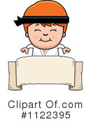 Royalty-Free (RF) Karate Clipart Illustration #1122395