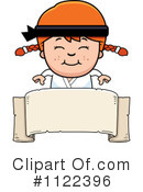 Royalty-Free (RF) Karate Clipart Illustration #1122396
