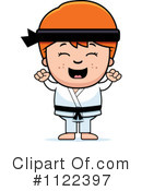 Royalty-Free (RF) Karate Clipart Illustration #1122397
