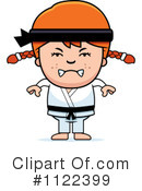 Royalty-Free (RF) Karate Clipart Illustration #1122399