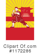 Royalty-Free (RF) Karate Clipart Illustration #1172286