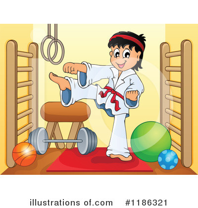 Karate Clipart #1186321 by visekart