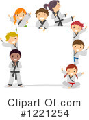Royalty-Free (RF) Karate Clipart Illustration #1221254