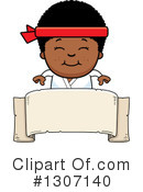 Karate Clipart #1307140 by Cory Thoman