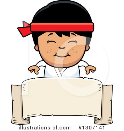 Karate Clipart #1307141 by Cory Thoman