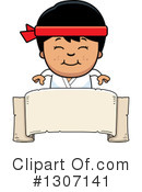 Royalty-Free (RF) Karate Clipart Illustration #1307141