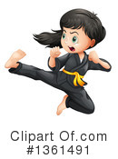 Karate Clipart #1361491 by Graphics RF