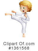 Karate Clipart #1361568 by Graphics RF