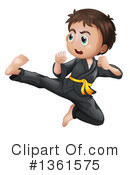 Karate Clipart #1361575 by Graphics RF