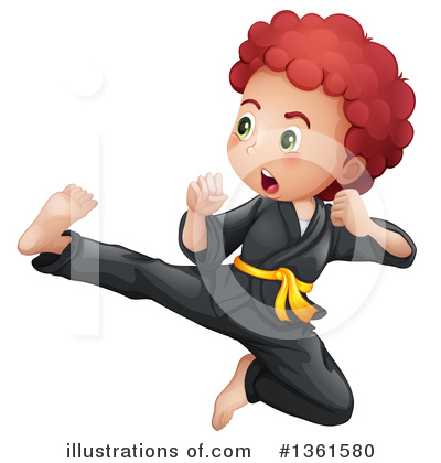 Karate Clipart #1361580 by Graphics RF