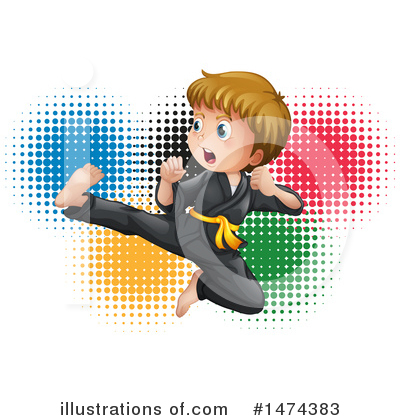 Karate Clipart #1474383 by Graphics RF