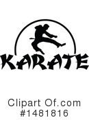Karate Clipart #1481816 by Johnny Sajem