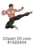 Karate Clipart #1522404 by AtStockIllustration