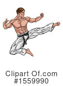 Karate Clipart #1559990 by AtStockIllustration