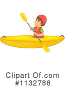 Kayak Clipart #1132788 by Graphics RF