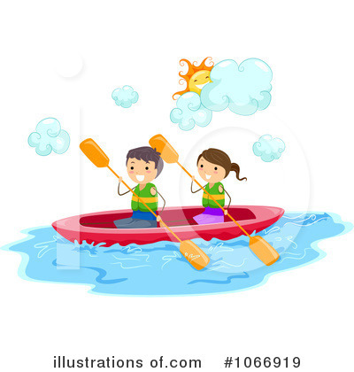 Kayaker Clipart #1066919 by BNP Design Studio