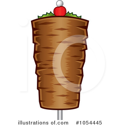 Kebab Clipart #1054445 by TA Images