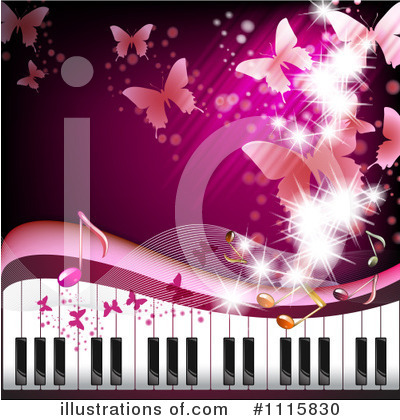 Piano Clipart #1115830 by merlinul
