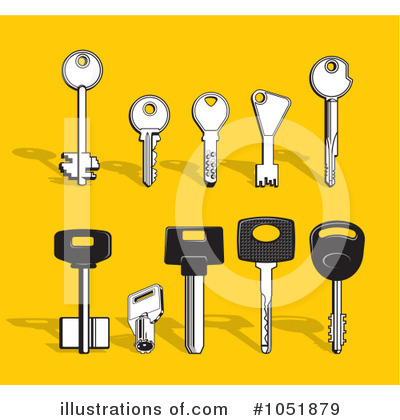 Key Clipart #1051879 by Any Vector
