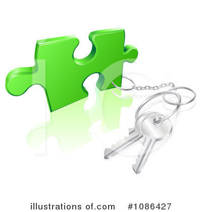 Puzzle Clipart #1086427 by AtStockIllustration