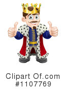 King Clipart #1107769 by AtStockIllustration