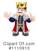 King Clipart #1110910 by AtStockIllustration