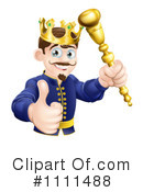 King Clipart #1111488 by AtStockIllustration