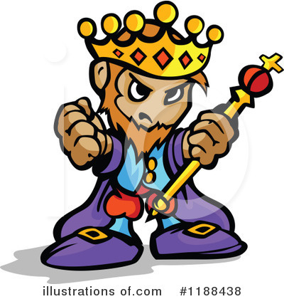 King Clipart #1188438 by Chromaco