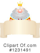 King Clipart #1231491 by Cory Thoman