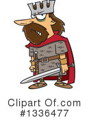 King Clipart #1336477 by toonaday