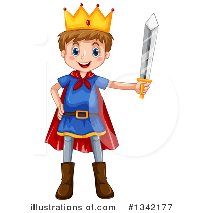 King Clipart #1342177 by Graphics RF
