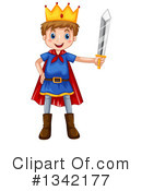 Royalty-Free (RF) King Clipart Illustration #1342177