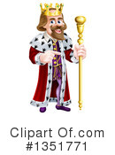 King Clipart #1351771 by AtStockIllustration