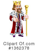 King Clipart #1362378 by AtStockIllustration