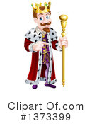 King Clipart #1373399 by AtStockIllustration