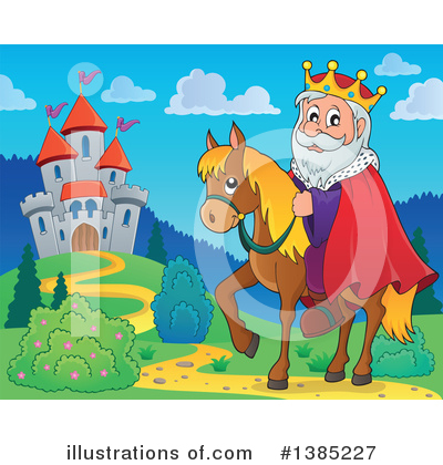 King Clipart #1385227 by visekart