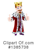 King Clipart #1385738 by AtStockIllustration