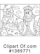 King Clipart #1389771 by visekart
