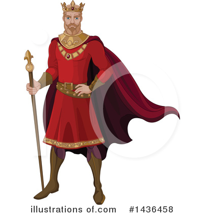 King Clipart #1436458 by Pushkin