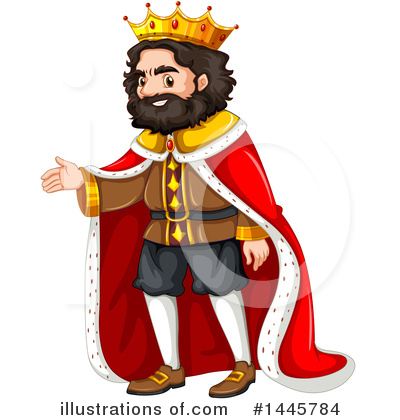 King Clipart #1445784 by Graphics RF